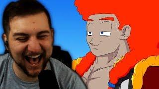 GOGETA SSJ4 IS BLACK?! | Kaggy Reacts to If Goku and Vegeta were BLACK Part 4 (DBZ Parody)