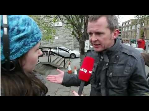 Richard Boyd Barrett FM104 Interview - Oil Drilling Dublin Bay and Treaty No Vote