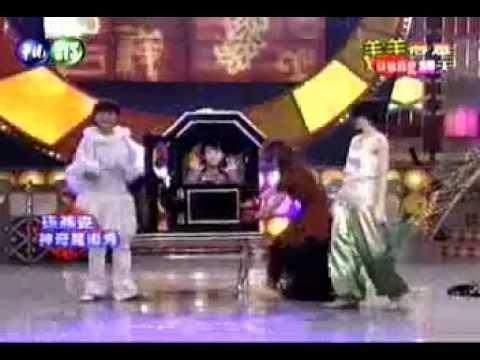 S.H.E & Sun Yan Zi Performing Magic