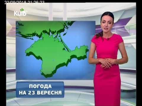 Телеканал Київ: Погода на 23.09.18