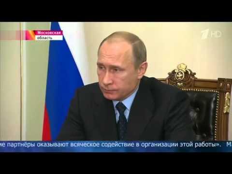 Владимир Путин плачет о катастрофе самолета в Египте