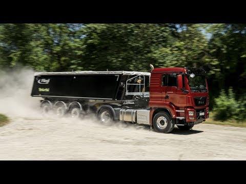 New MAN D15 Engine Drive Test