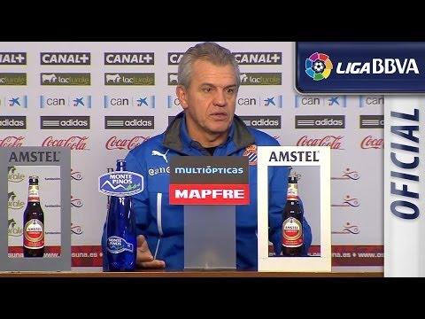 Rueda de Prensa de Aguirre tras el Osasuna (1-0) RCD Espanyol - HD