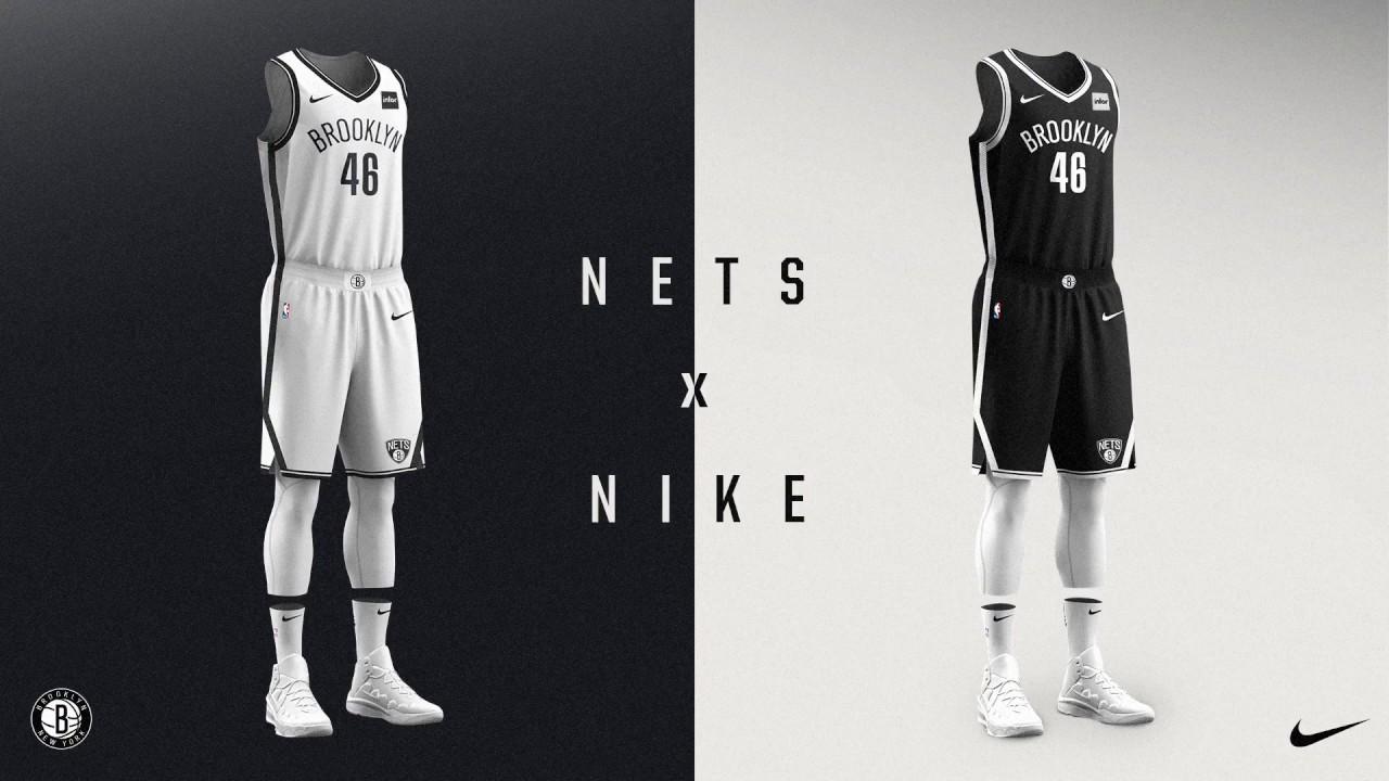 Brooklyn Nets + Nike unveil new team jerseys - YouTube b99f906cc