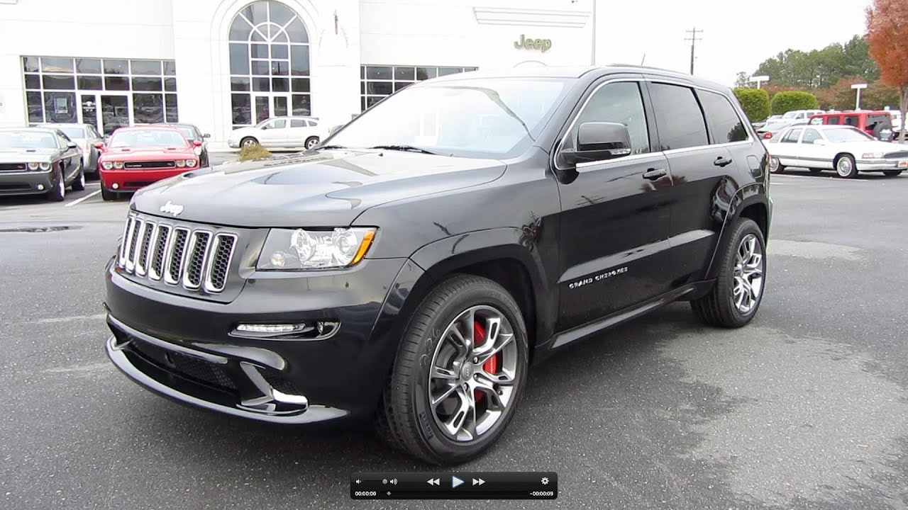 2012 Jeep Grand Cherokee SRT 8 Start Up, Exhaust, And In Depth Tour    YouTube