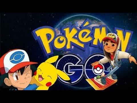 Pokemon GO VS Subway Surfers VENICE IPad Gameplay HD