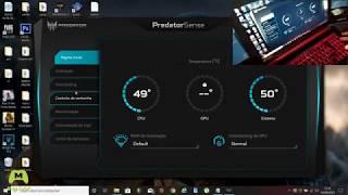 Como aumentar a potência dos Coolers com PREDATOR SENSE no NITRO 5 AN515-51 (instalação + tutorial)