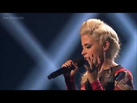 CeCe Frey - Because of You - X Factor USA Sing Off (Thanksgiving week)