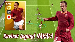 Review Legend AMF 93 Rating NAKATA - Pes 2020 Mobile
