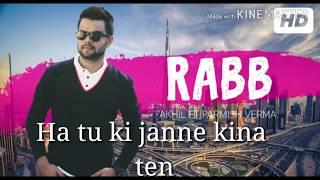 Rabb song akhil ! WhatsApp status valentines special