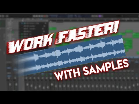 🏃💨 Work Faster With Samples In Logic Pro X