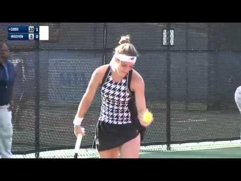 ITF 50k Macon 2015 / 1st Round / Nicole Gibbs v Maria Irigoyen