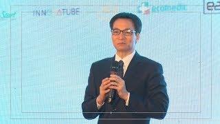 Phó Thủ tướng Chính phủ VŨ ĐỨC ĐAM phát biểu tại Techfest 2017