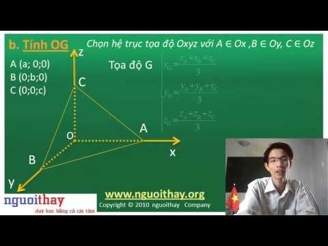 Phương pháp tọa độ hóa giải hình học không gian (phần 2)