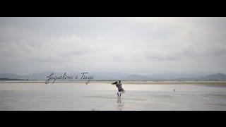 Pré casamento em São Francisco do Sul | Jaqueline e Tiago | Metade da Laranja Filmes