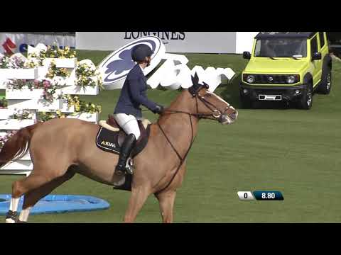 Jake Saywell wins the opening 2* Grand Prix of the Sunshine Tour in Vejer de la Frontera