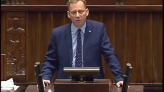 Wystąpienie Posła Zbigniewa Konwińskiego