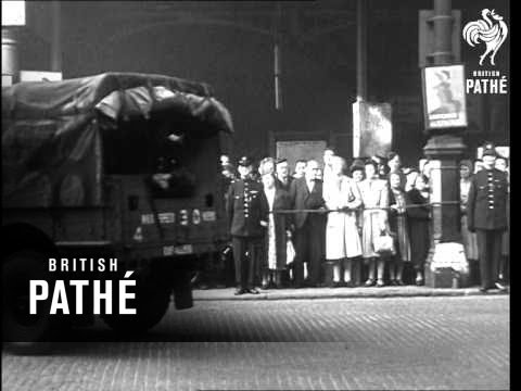 Body Of Duke Of Kent Arrives In London - 26/08/1942 (1942)