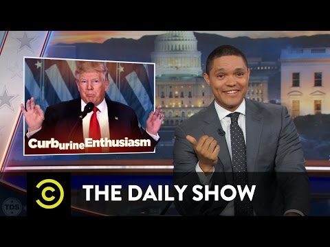 "The Daily Show - Obama Says Goodbye & Trump (Allegedly) Gets a ""Golden Shower"""