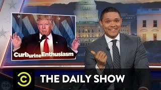 Repeat youtube video Obama Says Goodbye & Trump (Allegedly) Gets a