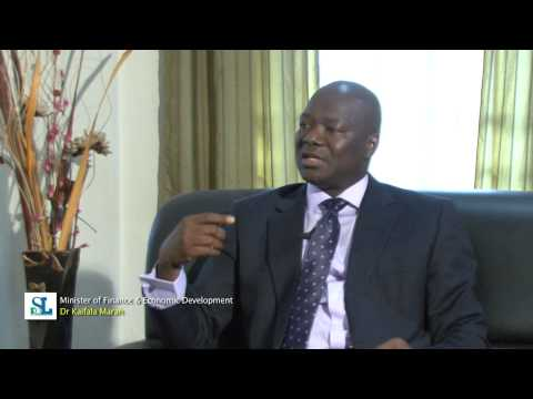 Interview with Sierra Leone's Minister of Finance on EITI and the Economy pt.3