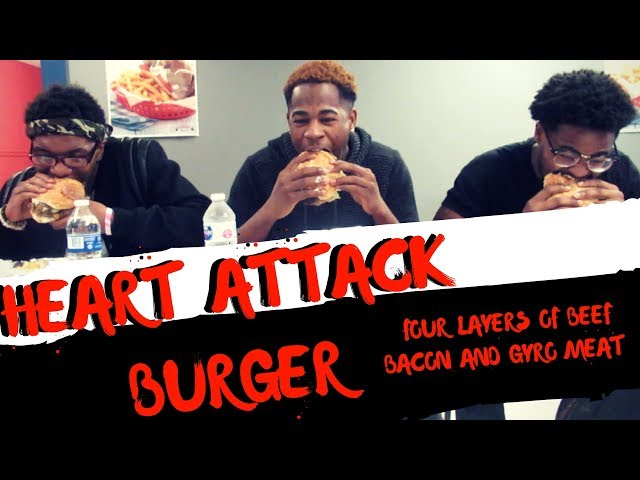 HEART ATTACK BURGER CHALLENGE