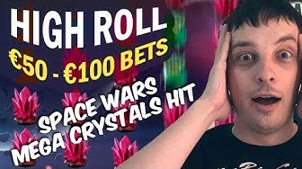 HIGHROLL SLOTS: €50 RISE OF MERLIN, €80 SPACE WARS CRYSTALS