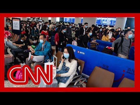 Reporters describes scramble to flee Wuhan before lockdown