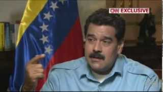 Nicolás Maduro en entrevista con Amanpour   Parte 3