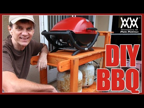How to Make a Shop Stool in 10 Minutes, Build a DIY BBQ Grill Stand and Transform Your Cutting Table Into a Coffee Table