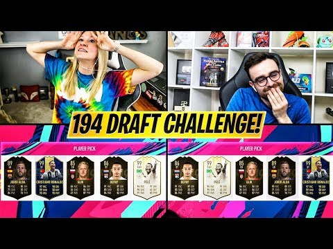 194 RATED FUT DRAFT CHALLENGE vs AJ3FIFA!! FIFA 19 Ultimate Team