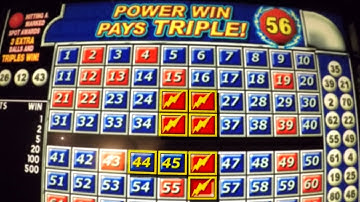 Awesome Keno Win As It Happens!