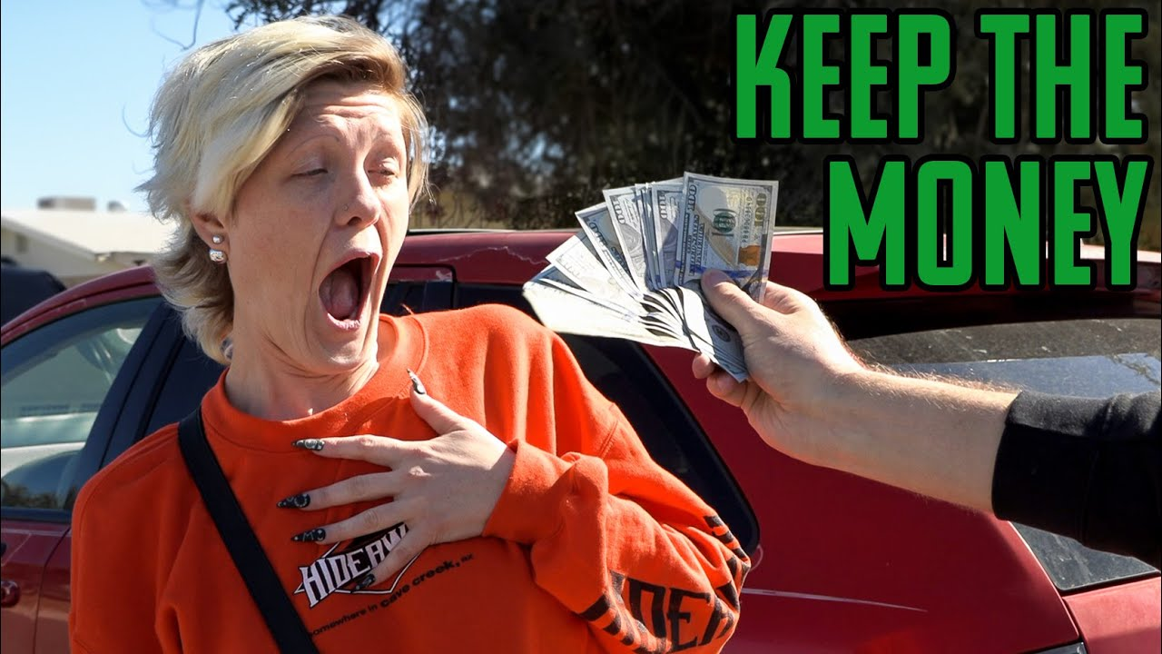 Buying Strangers Cars, Then Giving Back The Car - download from YouTube for free