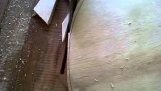 Cara membuat bundaran kayu dengan circle