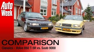 Classics Dubbeltest Volvo T5R vs Saab 9000