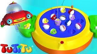 Repeat youtube video TuTiTu Toys | Let's Go Fishin' | Fishing Game for Children