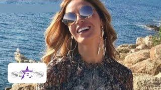 Adriana, soţia lui Dan Petrescu, munceşte din greu să arate atât de bine