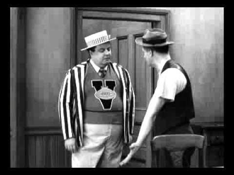 The Honeymooners - Ralph Kramden & Norton Dance The Hucklebuck - Clip