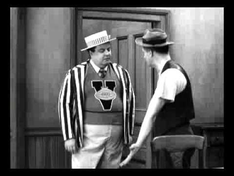 The Honeymooners - Ralph Kramden & Norton Dance The Hucklebuck - Clip