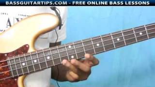 "Israel Houghton - ""All Around"" Bass Intro"