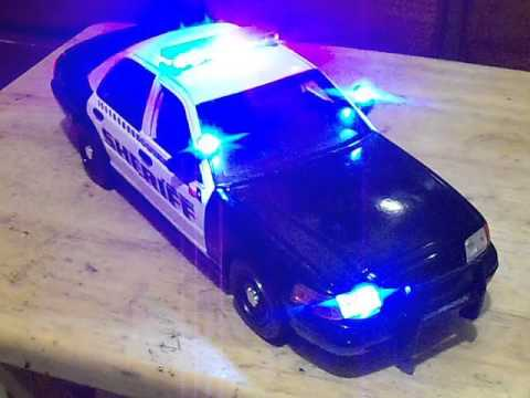1/18 El Paso County Texas Sheriff Police Car