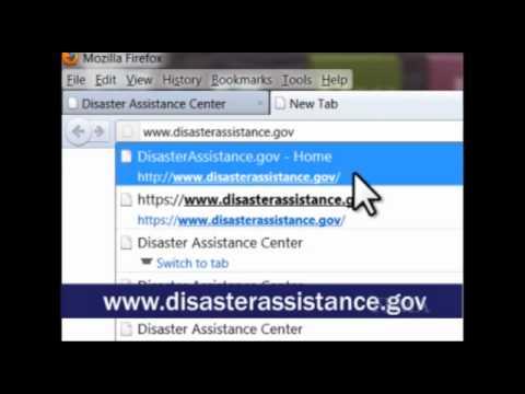 Register with FEMA Online
