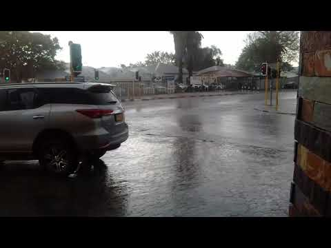 Rain in windhoek November 3 2017