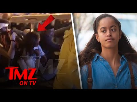 Malia Obama Gets Carted Out Of Lollapalooza | TMZ TV
