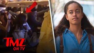 Malia Obama Gets Carted Out Of Lollapalooza   TMZ TV