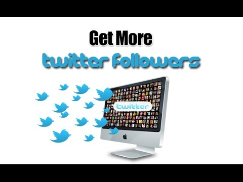 How To Get Free Twitter Followers || 2017 (No App)