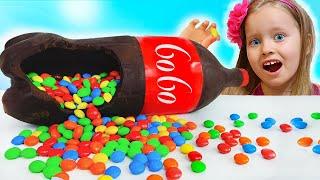 Chocolate & soda challenge from Milli and Eva