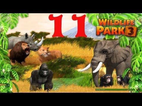 Wildlife Park 3 - #11 Wir bauen das Zebra-Gehege  (Deutsch) Let's Play Wildlife Park 3  