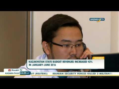 Kazakhstan state budget revenues increased 43% in January-June 2016 - Kazakh TV