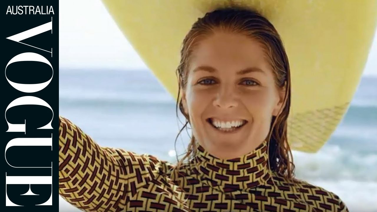 Stephanie Gilmore takes us behind-the-scenes of her January 2019 shoot for Vogue Australia